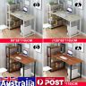 4 Tier Bookshelf Cabinet Computer Desk Table Laptop Study Writing Home