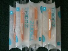 GENUINE TRION Z SINGLE STRAND IONIC WRISTBAND ORANGE LARGE SIZE BY COLANTOTTE