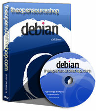 Debian Linux 8.8.0 (Jessie) Live Bootable Startup DVD - Ultra Robust & Stable