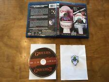 Ghoulies & Ghoulies II Blu-ray*Scream Factory*OOP Cavity Colors Pin*