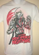 ROB ZOMBIE GREAT AMERICAN NIGHTMARE OFFICIAL SMALL T- SHIRT ROCK METAL