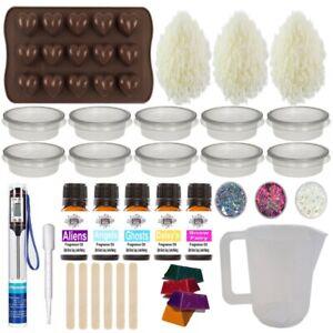 Wax Melt kit ~ Huge learner Fragrance Oil Starter Candle Making ~ Kit 22 Perfume
