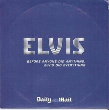 ELVIS - BEFORE ANYONE DID ANYTHING ELVIS DID EVERYTHING  = PROMO CD = 10 TRACKS