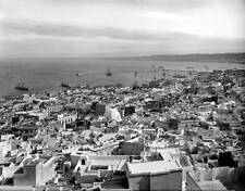 OLD PHOTO FRANCE Panorama Of Algiers From The Kasbah