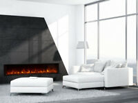 """New Modern Flames Landscape 80"""" X 15"""" Fullview Built In Electric Fireplace"""