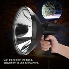"""9"""" Hand Held HID Spotlight 100W Hunting 12V Lamp Offroad Camping Spot Light UK"""