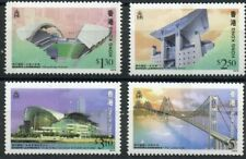 Bridge Stadium Tower mnh 4 stamps 1997 Hong Kong Landmarks #788-91 Lantau Link