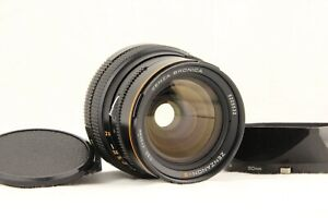 【NEAR MINT w/ Hood 】 BRONICA ZENZANON S 50mm f/3.5 for SQ A Ai Am B from JAPAN