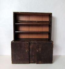Petit meuble de rangement bois Vintage enfant dinette ou déco branchée