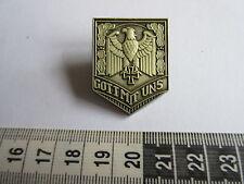 WH WXX Gott mit Uns Reichsadler Lorbeer Eisernes Kreuz Pin Wehrmacht WK2 WWII