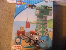 Lego Duplo Thomas The Tank Engine Cargo-Loading Cranky Train Set (3301)