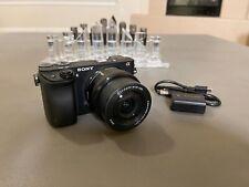 Sony Alpha A6300 24.2MP Mirrorless Digital Camera - Black with 16-50mm Lens