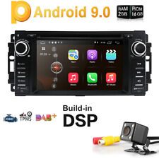 JEEP JK WRANGLER DVD CD GPS APPLE CARPLAY ANDROID AUTO REPLACEMENT HEAD UNIT
