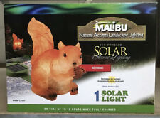 Intermatic Malibu Outdoor Solar Yard Landscape Garden SQUIRREL LIGHT Pathway NEW