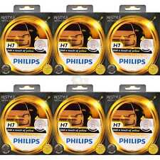6x Philips ColorVision yellow gelb +60% Set 2x H7 12V 55W PX26d