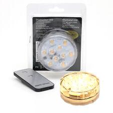 LED Photophore Bougies flottantes sous-marin Lumiere Télécommande 10 SMD Ø 7 cm