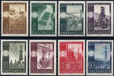 "1947 ""Austria"" Vienna Fair, Industry, Electricity, Oil, Wood, compl set VF/MNH!"