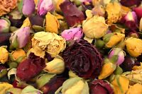 Rose Buds Mix, Dry Roses, Wedding Decor, Dried Flowers Craft, Soap, Candle, Bath