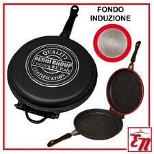 FORNETTO DOPPIA PADELLA SANITY STONE PIETRA 32 CM ROTONDA GRILL INDUZIONE GRILL