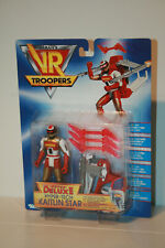 KAITLIN STAR_ SUPER DELUXE HYPER-TECH _ SABAN'S _ VR TROOPERS _ KENNER _ NEW MOC