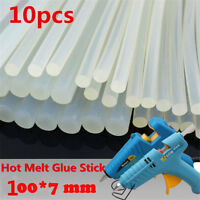 10PCS 7mm x 100mm Hot Melt Glue Stick for Craft Electric Tool Heating Glue Gun