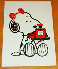 LARGE DEATH NYC Snoopy No. 6 A/P Print - NYC COA & Sticker 45x32