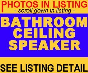BATHROOM CEILING SPEAKERS - OUTSIDE OUTDOOR DECK POOL