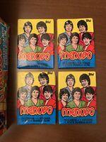 TOPPS 1983 MENUDO ROCK LATIN BOY BAND-Ricky Martin (4) Unopened WAX PACKS Cards