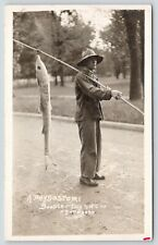 Evanston IL~Northwestern University~NWC Booster Day Parade~Sucker Fish~1914 RPPC