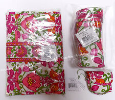 3pc Set LILLI BELL Baby Bottle Caddy Pacifier Pod Changing Pad Vera Bradley NWT