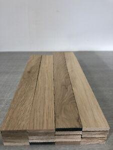 Oak TImber - Natural Wood- Offcuts - Hardwood 20 Pieces 58mm X 10mm X 400mm long
