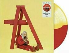Billie Eilish ?Don't Smile At Me Target Yellow / Red Split vinyl