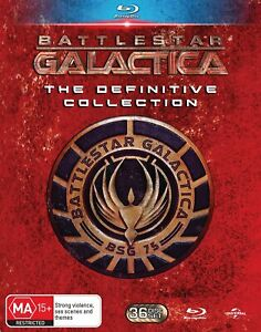 BATTLESTAR GALACTICA THE DEFINITIVE COLLECTION Complete Blu-ray Caprica Series