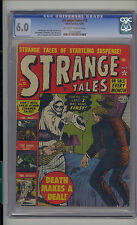 Strange Tales #13 CGC 6.0 FN Unrestored Atlas Marvel Scarce OW/W Pages