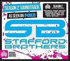 STAFFORD BROTHERS Season 2 Soundtrack: Ministry Of Sound 2CD NEW DIGIPAK
