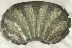 Vintage Large Silverplate Silent Butler Decorative Crumb Pan or Tray