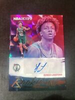 Romeo Langford 2019-20 Panini NBA Hoops Rookie Ink Auto Celtics