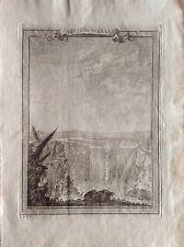 CHUTES D'EAU DU NIAGARA CHUTE Ontario GMT 1777 G.T. MASI gravure USA CANADA