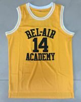 The Fresh Prince Of Bel-Air Academy Jersey #14 Will Smith Yellow Stitched