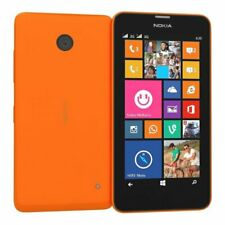 Unlocked Nokia Lumia 630 Microsoft Windows Cell Mobile Phone 8GB Orange SIM FREE