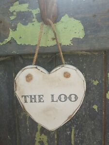 Vintage Toilet/Loo Sign