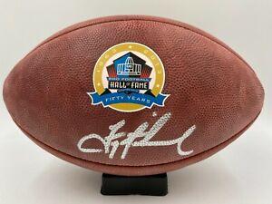 Troy Aikman Signed HOF The Duke Wilson Football Autographed AUTO PSA/DNA COA