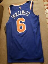 Nike New York Knicks Kristaps Porzingis Authentic Jersey sz 44 52 56 58  200 ffff2823a