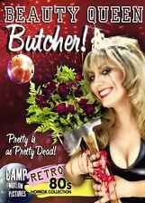 Beauty Queen Butcher DVD Camp Motion Pictures Jill Zurborg 1991 low-budget uncut