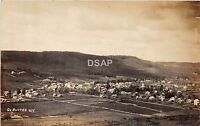 New York NY Real Photo RPPC Postcard c1910 DeRUYTER Birdseye View Homes