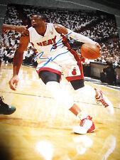 DWYANE WADE SIGNED AUTOGRAPH 11x14 PHOTO MIAMI HEAT NBA CHAMPIONS IN PERSON E