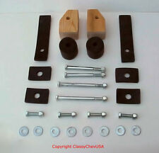 1939 1940 1941 1946 Chevy GMC  Truck Cab to Frame Mount & Bolt Kit