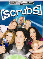 Scrubs - The Complete First Season (DVD, 2005, 3-Disc Set FREE DOMESTIC SHIPPING