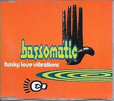 BASSOMATIC - Funky love vibrations CDM 4TR House 1991 (WILLIAM ORBIT)