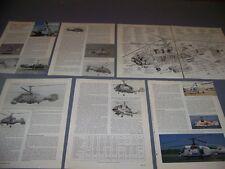 VINTAGE..KAMOV KA-29TB HELIX-B..SPECS/CUTAWAY/3-VIEWS.. (263C)